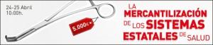 Jornadas Mercantilización Sanidad